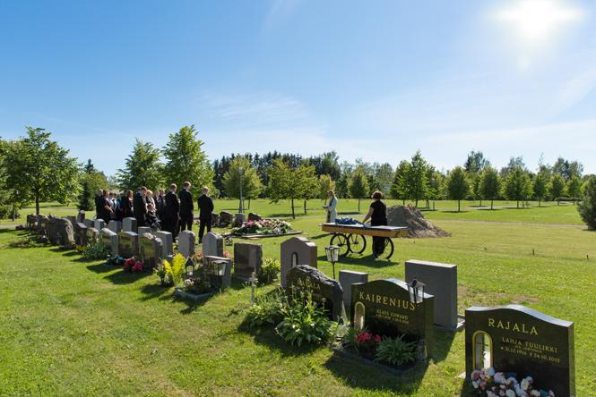 Hautajaiskuvaus Tampere